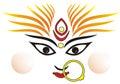 Indian goddess Ma Durga Royalty Free Stock Photo