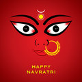 Indian godess durga devi face background Royalty Free Stock Photo