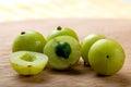 Indian gooseberry fresh alternative medicine Royalty Free Stock Photography
