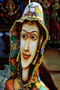 Indian handicraft artworks of on display during the fair in kolkata the biggest handicrafts fair in asia Royalty Free Stock Image