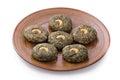 Indian hara bhara kebab Royalty Free Stock Photo