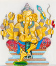 Indian or Hindu God Named Duraga Ganapati Stock Photography