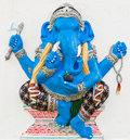 Indian or Hindu God Named Ekdanta Ganapati Stock Images