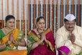 Indian hindu wedding rituals Royalty Free Stock Photo