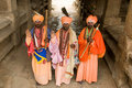 Indian Holy Men Stock Images