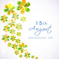 Indian independence day th august background Royalty Free Stock Photos