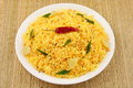 Indian lemon rice. Royalty Free Stock Photo