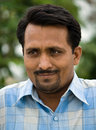 Indian Man's portrait Stock Photography