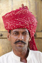 Indian Man in Turban Stock Image