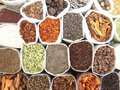 Indian Market-Spices Royalty Free Stock Photos