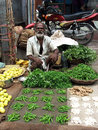 Indian Market after Tsunmai 2004 Royalty Free Stock Images