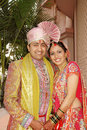 Indian Married Couple Royalty Free Stock Images