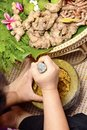Indian medicine Ayurveda, herbal treatment 2019