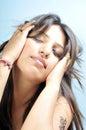 Indian model girl Stock Photos