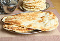 Indian Naan Bread Royalty Free Stock Photos