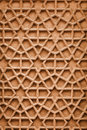 Indian ornament with arabic motifs stone carving from agra traditional Stock Images