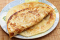 Indian paratha flatbread Stock Photos