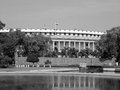 Indian parliament house at new delhi Royalty Free Stock Image