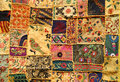 Indian patchwork Royalty Free Stock Photo