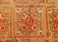 Indian patchwork carpet Stock Photos