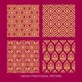 Indian pattern design Royalty Free Stock Photo