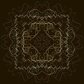 Indian pattern detailed and easily editable vector image Royalty Free Stock Photography