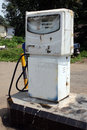 Indian Petrol Pump Stock Photography