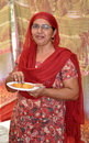 Indian punjabi lady Royalty Free Stock Image