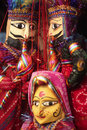 Indian puppets Stock Images