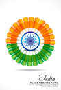 Indian republic day background vector illustration abstract Royalty Free Stock Image