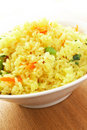 Indian rice kari Royalty Free Stock Images