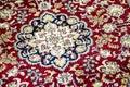 Indian rug detail patterns close up madurai india Stock Photography