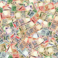 Indian rupees seamless texture Stock Image