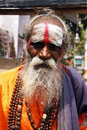 Indian sadhu Royalty Free Stock Photography