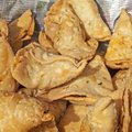 Indian samosa Royalty Free Stock Images
