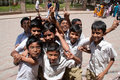 Indian school children Royalty Free Stock Photos