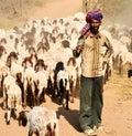 image photo : Indian shepherd