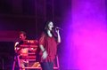 Indian singer Sunidhi Chauhan performs at Bahrain Stock Photos