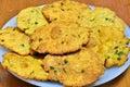 Indian snack-Mathri Royalty Free Stock Photo