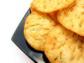 Indian Snacks-Puris Royalty Free Stock Photography