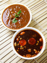 Indian spicy chutney's Stock Photography