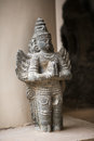 Indian statue in the city of trichy Stock Photo