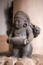 Indian statue in the city of trichy Royalty Free Stock Image