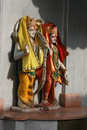 Indian statues Stock Photography