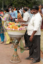 Indian street food vendor Royalty Free Stock Photo