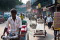 Indian Street Traders Stock Images