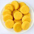 Indian sweet peda prepared out of milk product sugar and aromatic ingredients Stock Images