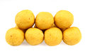 Indian sweets isolated on a white background Stock Images