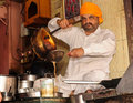 Indian tea shop Stock Photography