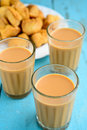 Indian tea with spices masala chai Stock Photography